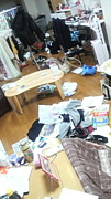杏子の部屋を綺麗にする