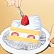 ケーキのイチゴは魂だよ!!