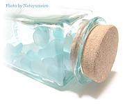 透明感のある水色