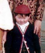 子供の時の写真でノスタルジック
