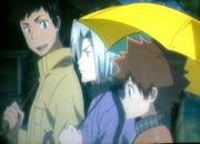 (仮)3人の傘