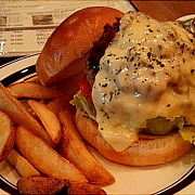 The Chilli cheeseburger