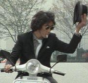 バイクに乗ったら工藤ちゃん