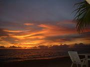海に沈む夕陽が好き
