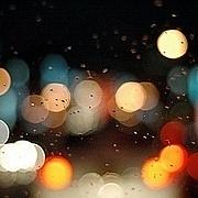 雨あがりの、夜