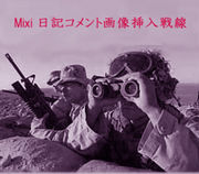 mixi日記コメント画像挿入戦線