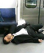 飲みすぎて高尾駅