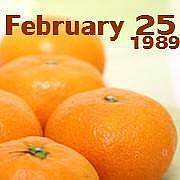 ☆1989年2月25日☆
