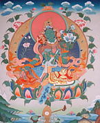 チベ研タンカ教室