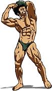 筋肉は裏切らないw