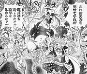 白ひげ海賊団の隊長たち