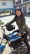 Lady's バイクのり in対馬