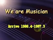 S61.4-S62.3年代Musician♪