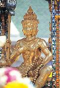 エラワン廟の梵天さま