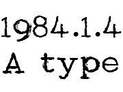 1984年1月4日生まれのA型