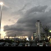 地震雲を撮る