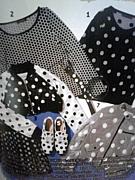 ●水玉ファッション○