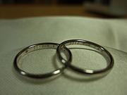 2010年4月4日*結婚記念日