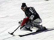 チェアスキーを楽しむ!