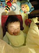 赤ちゃんと英語
