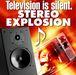 テレビは無音、ステレオで爆音!