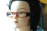 メガネに目がねー