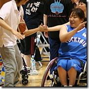 車椅子バスケットに携わる