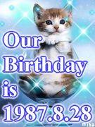1987年8月28日生まれ