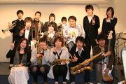 本庄西中吹奏楽部2002年度引退組