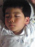 子供の寝顔を自慢しよう