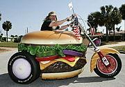 ハンバーガーが好きなバイク乗り