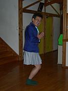 松尾秀樹に琵琶湖の水温測らせ隊