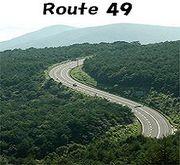 国道49号線
