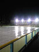 休日はアイススケート