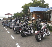 一本松Cafe on Blue-Bikers