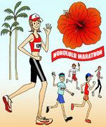2009年ホノルルマラソン大阪支部