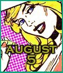 8月5日が誕生日♪