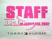 ROCK IN JAPAN FES. STAFF