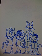 三毛猫シャムロック