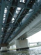 橋の裏側萌え。