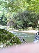渓流釣りin京都
