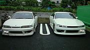 ホワイト・・車d(゚д゚ )