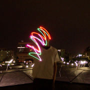 Graffiti of light