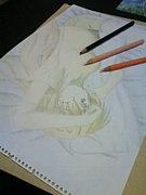 色鉛筆で萌え絵を描こう!