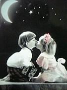 接吻でうっぷん晴らし♪