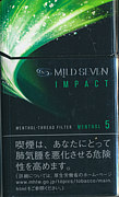 MILD SEVEN Impact Menthol Box
