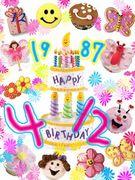1987年4月12日生まれ