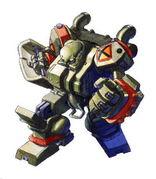 軍用戦車ロボ