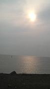 夕陽が見える海辺でBBQがしたい