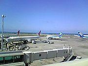 那覇空港で働く人たちの会